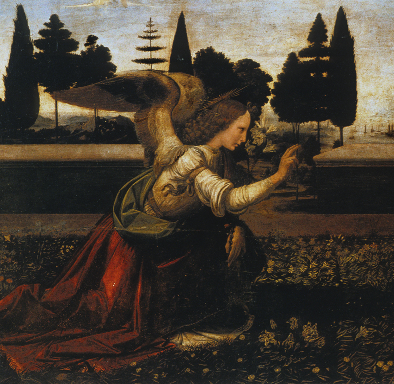 the influences of verrocchio and the styles and characteristics of leonardo da vinci in annunciation This groundbreaking reexamination of the beginnings of leonardo da vinci's life as an artist sug- gests new candidates for his earliest surviving work and revises our understanding of his role in the studio of his teacher, andrea del verrocchio.